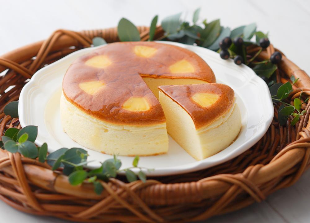 赤い風船のチーズケーキ
