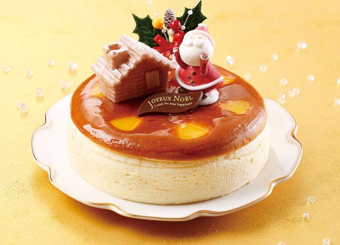 クリスマスチーズケーキ